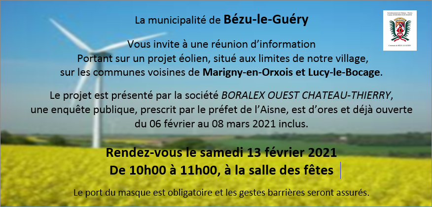 annonce mairie Bezu Guery